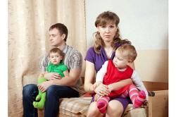 Дети с родителями: каждому по ребенку