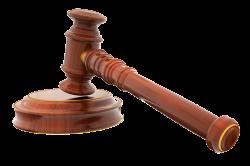 Лакированный деревянный молоток судьи