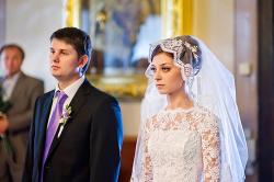 Обряд венчания в церкви