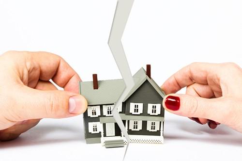 Раздел дома между супругами