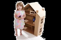 Ребенок и кукольный домик
