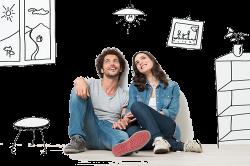 Семейная пара мечтает о квартире