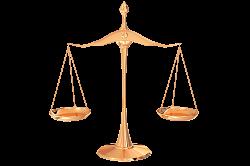 Весы - один из символов правосудия