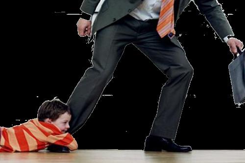 Отец уклоняется от уплаты денег сыну