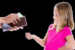 Уплата алиментов ребенку